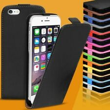 Mobile Phone Faux Leather Flip Case Cover Protective Shell for Apple iPhones