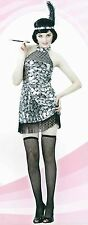 Ladies 20s CABERET Style Dress FLAPPER Costume adult womens