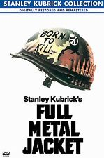 Full Metal Jacket (DVD, 2001, Stanley Kubrick Collection) MATTHEW MODINE