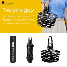 Mini Women Tote Umbrella 360° Rotation Compact Travel Umbrella Anti-UV Windproof