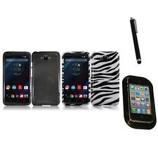 For Motorola Droid Turbo Snap-On Design Hard Phone Case Cover Mount+Pen