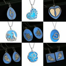 Fashion Magic Glow In The Dark Locket Pendant Necklace Luminous Jewelry Gifts