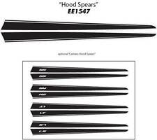 HOOD SPEARS Vinyl Decals Stripes * Premium Grade 3M Vinyl 2010-2015 Chevy Camaro