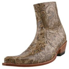New SENDRA BOOTS men's boots Ankle boots Western boots Leather Shoes Beige