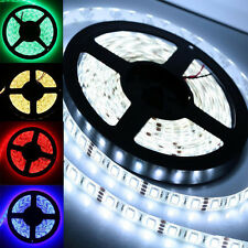 5M 5050 SMD RGB Flexible Strip LED Light Waterproof Muti color 12V 300 leds Lamp