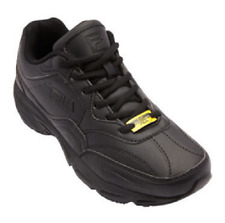 FILA MENS ON THE JOB SLIP RESISTANT BLACK SHOES 2017 *FREE POST AUSTRALIA