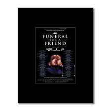 FUNERAL FOR A FRIEND - UK Tour 2008 Mini Poster