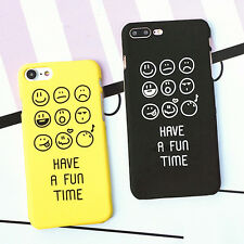 Cute cartoon back Case Cover For iphone 5/5S/6/6s/7 Plus Fashion Letter Hard PC