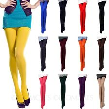 Tights Assorted color Colorful Sexy Stockings Semi Opaque Womens Pantyhose