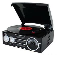 Jensen 3-Speed Stereo Turntable with AM/FM Stereo Radio - Model: JTA-300