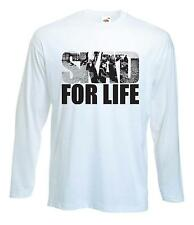 SKA'D FOR LIFE T-SHIRT - Ska Madness The Specials Mod Trojan - Choice Of Colours