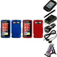 For HTC Trophy T8686 Rigid Plastic Hard Snap-On Case Phone Cover Accessories