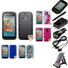 For Kyocera Hydro Vibe Hybrid TUFF IMPACT Phone Case Hard Cover Accessories