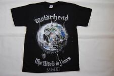 MOTORHEAD WARPIG THE WORLD IS YOURS T SHIRT NEW OFFICIAL LEMMY ACE OF SPADES