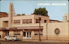 Lansing MI Greyhound Bus Station & Cafeteria Eaton County,Ingham County Dexter