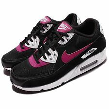Wmns Nike Air Max 90 Black Purple Women Classic Shoes Sneakers 325213-040