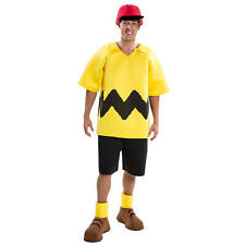 Peanuts: Charlie Brown Deluxe Halloween Costume - Adult Size
