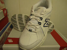New! Womens New Balance 608 v3 Sneakers Shoes - White Blue - 9.5