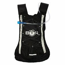 BTR Hydration Pack Backpack with 2L Water Bladder Reservoir - Cycling, Festivals