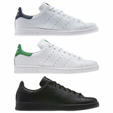 adidas ORIGINALS MENS STAN SMITH TRAINERS BLACK WHITE UK SIZES 7 - 12.5 SHOES