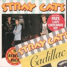 """STRAY CATS Rebels Rule 7"""" VINYL UK Arista 1983 Limited Edition Customize Kit"""