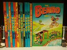 Various 1970/80's Beano Annuals & More - 13 Books Collection! (ID:45093)