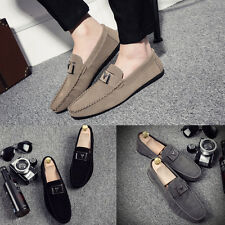 2017 Men Slip On Flats Driving Loafers Moccasins Casual Sneakers Leisure Shoes
