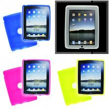 For Apple iPad 1st Gen 1G Silicone Case Gel Rubber Slim Grippy Skin Cover