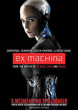 "EX MACHINA - WIDESCREEN DVD - ""SPELLBINDING FILM"" + DIGITAL COPY + ULTRAVIOLET"