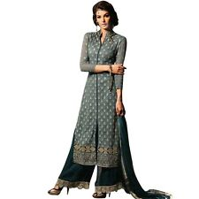 Bollywood Wedding Georgette Embroidered Salwar Kameez Suit India-Glamour-34002-A