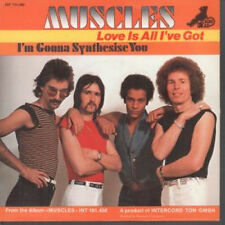 "MUSCLES (70'S GROUP) Love Is All I've Got 7"" VINYL German Big Bear 1977 B/w I'm"