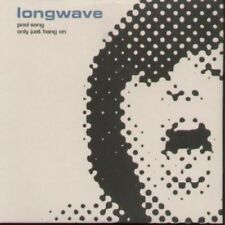 LONGWAVE Pool Song CD UK Longwave 2 Track B/W Only Just Hang On (Lwave02Cd)