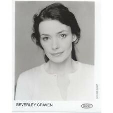 BEVERLEY CRAVEN Epic Promo Photo PHOTOGRAPH B/W Promo Photo By Kim Knott