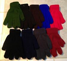 Super Stretch Acrylic Sweater Knit Gloves/Hand Warmers *6 Colors