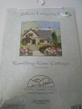 Silken Long Stitch - Cottages - 'Rambling Rose' - Derwentwater Kit - SEE OFFERS