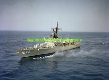 USN Frigate USS BRUMBY FF 1044 Color Photo Navy Ship Military Vet FF-1044