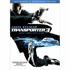 The Transporter 3 (DVD, 2009, Full Screen/ Widescreen Edition) Jason Statham Fun