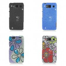 For Motorola Droid Razr Maxx Case Diamond Bling Luxury Fashion Cute Hard Cover