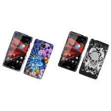For Motorola Droid Razr Maxx Design Hard Snap-On Phone Case Cover Skin