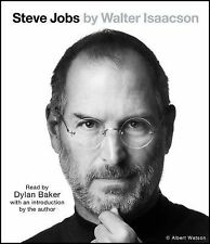 Steve Jobs by Walter Isaacson (2011, CD, Unabridged)