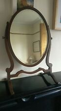 Edwardian  Mahogany Dressing Table/Toilet Mirror