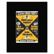 BUDDY HOLLY - Winter Dance Party Mini Poster