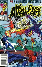 West Coast Avengers (1984 Limited Series) #4 VF