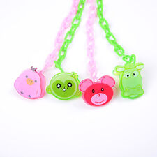 Cartoon-Baby Dummy Pacifier Soother Nipple Chain Clip Buckle Holder Dummy Holder