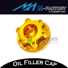 Gold CNC Engine Oil Filler Cap Plug Fit Ducati SS 620 750 800 900 1000 91-06
