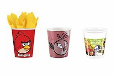 8 Party CUPS Range of ANGRY BIRDS Designs (Birthday/Tableware/Party/Kids)