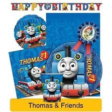 Thomas&Friends BALLOONS & BANNERS Birthday Party Range (Tableware & Decorations)