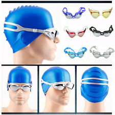 Adjustable Eye Protect Non-Fogging Anti UV Swimming Goggle Glasses For Adults