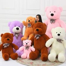 2017 Stuffed Giant Big Pink Plush Teddy Bear Huge Soft 100% Cotton Doll Toy gift