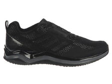 NEW MENS ADIDAS SPEED TRAINER 3.0 RUNNING SHOES TRAINERS BLACK / BLACK / 2E-WIDE